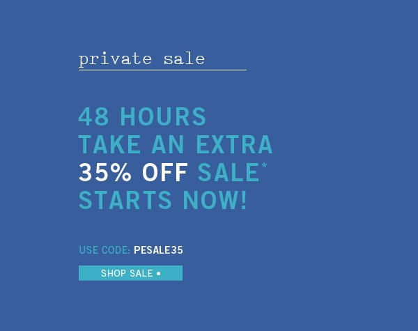By Invitation Only- Private Sale