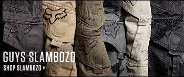 Guys Slambozo Shorts