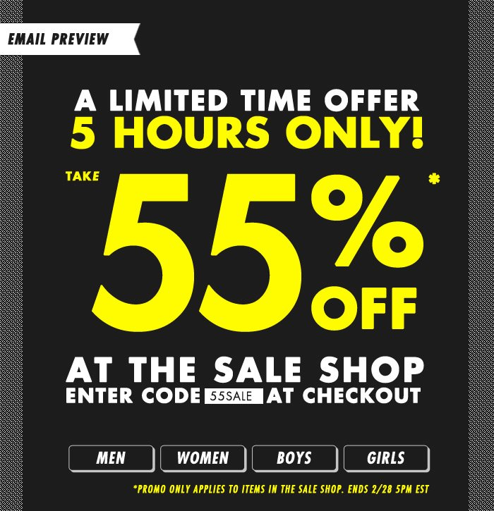 DrJays.com Take 55% Off The Sale Shop With Promo Code.