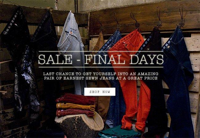 Sale - Final Days