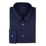 Paul Smith Shirts - Navy Floral Trim Shirt