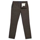 Paul Smith Trousers - Black Flecked Cotton Trousers