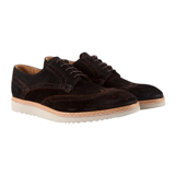 Paul Smith Shoes - Dark Brown Fin Brogues