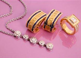 Designer Gold jewelry: Tiffany & Co, Charriol, Movado & more
