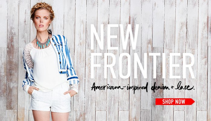 New Frotier - Take On Denim & Lace - Shop Now