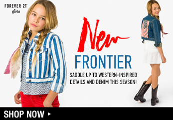 Forever 21 Girls: New Frontier - Shop Now