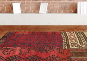 Vintage One-of-a-Kind Patchwork Rugs