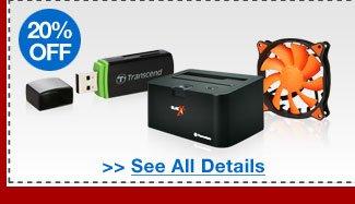 48 HOURS ONLY! 20% OFF SELECT PC ACCESSORIES!*