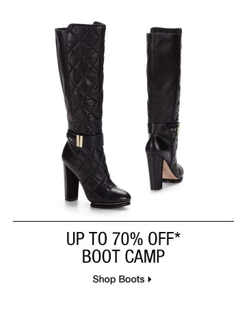 Up to 70% Off* Boot Camp