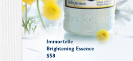 Immortelle Brightening Essence $58