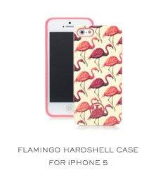 Flamingo Hardsheel case for iPhone 5