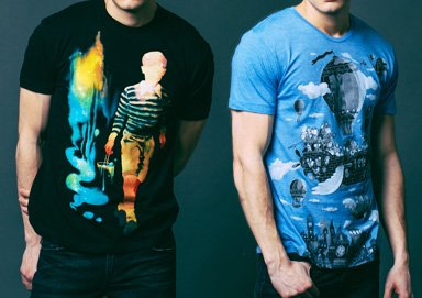 Shop Abstract Graphic Tees Under $20