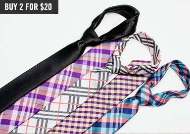 Shop Stay On-Trend with Skinny Ties