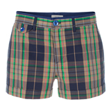 Paul Smith Shorts - Navy Checked Shorts