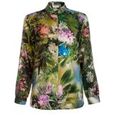 Paul Smith Shirts - Hazy Botanical Print Shirt