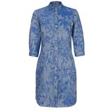 Paul Smith Dresses - Surrealist Collage Print Chambray Shirt Dress