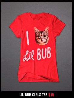 LIL BUB GIRLS TEE $15