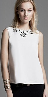 Necklace Front Shell Top