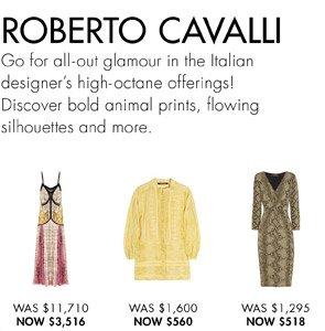 ROBERTO CAVALLI width=