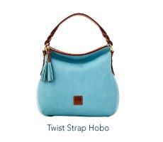 Twist Strap Hobo