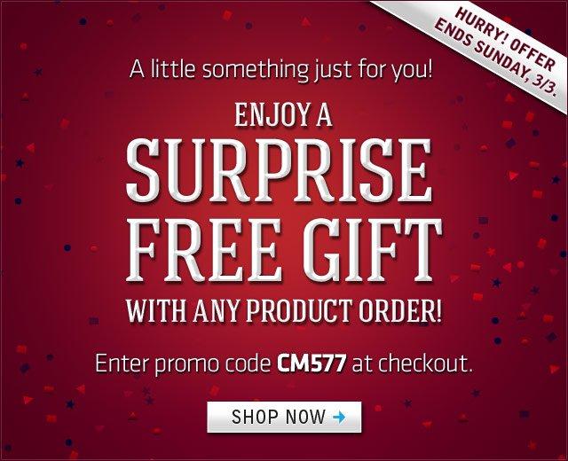 Surprise Free Gift