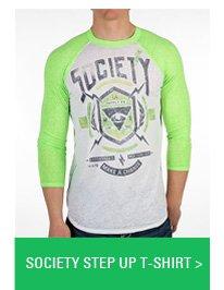 Society Step Up T-Shirt