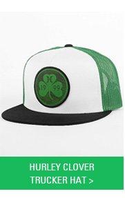 Hurley Clover Trucker Hat
