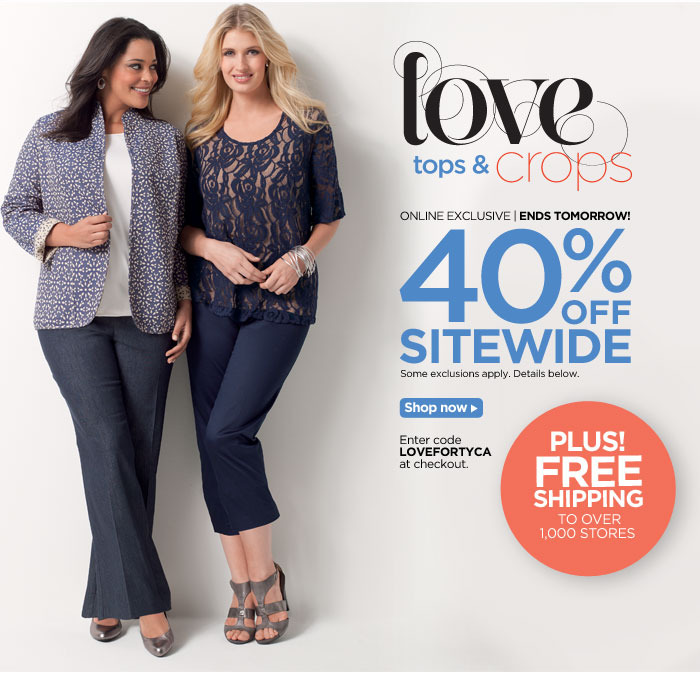 Love Our Latest: 40% Off!
