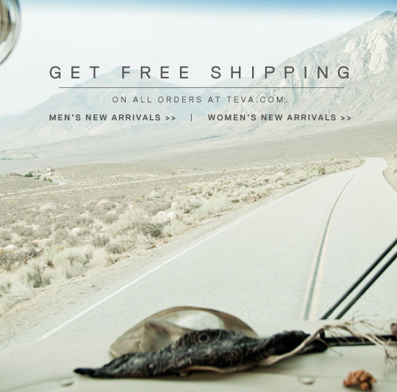 Get free shipping on all orders at teva.com - Shop new arrivals >>