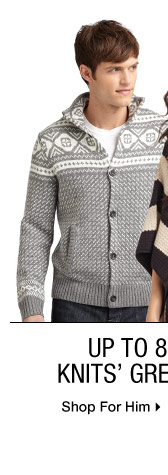 Up to 80% Off* Knits' Greatest Hits