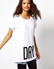 ASOS Oversized T-Shirt with Day and Night Print