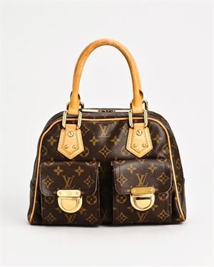 Louis Vuitton Monogram Manhattan PM Handbag $999