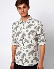 ASOS Shirt With Elephant Print