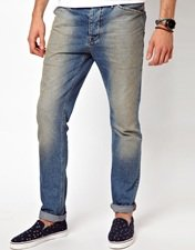 ASOS Slim Jean With Authentic Wash