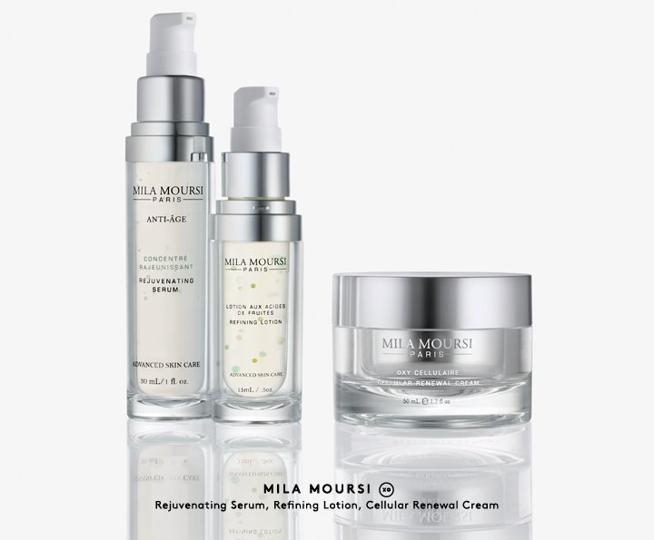 Shop skin-perfecting products by top facialist Mila Moursi.