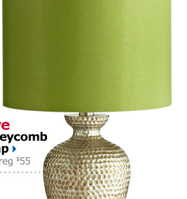 Save Honeycomb Lamp