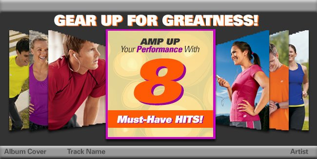 Gear Up for Greatness. Amp Up Your Performance with 8 Must-Have Hits!
