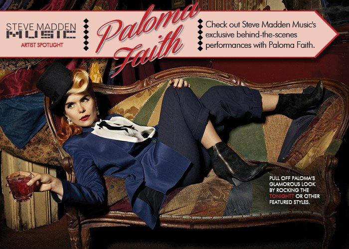 Check out our Steve Madden Music Artist Spotlight on Paloma Faith