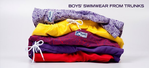 BOYS' SWIMWEAR FROM TRUNKS, Event Ends March 6, 9:00 AM PT >