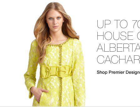 Up to 70% Off* House Of Moschino, Alberta Ferretti, Cacharel &  More