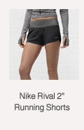 Nike Rival 2' Running Shorts