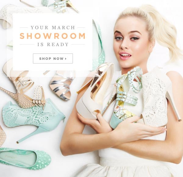 Spring's Here: Shop Your March Showroom - Get Going