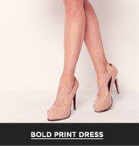 Bold Print Dress
