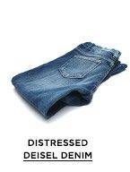 Distressed Diesel Denim