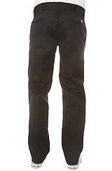 The Slim Straight Work Pants in Black
