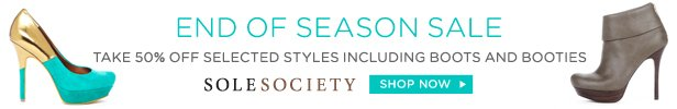 Sole Society End of Season Sale | Shop Now