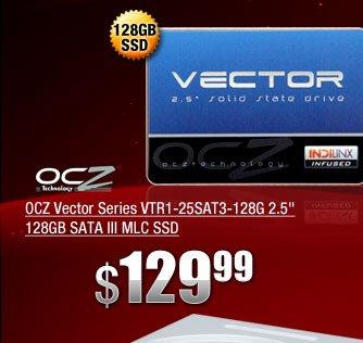 OCZ Vector Series VTR1-25SAT3-128G 2.5 inch 128GB SATA III MLC SSD