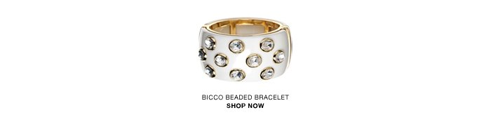Bicco beaded bracelet