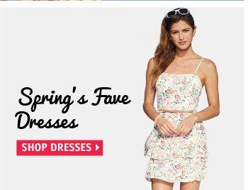 Spring's Fave  Dresses