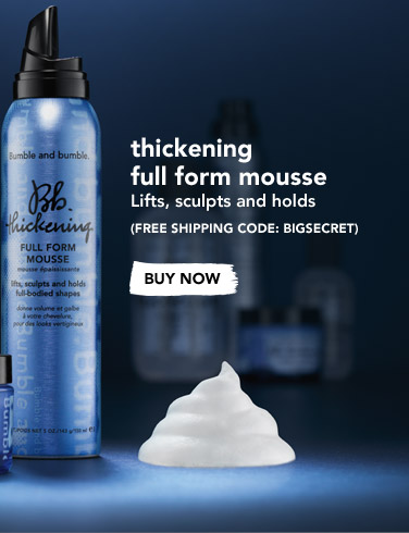 Thickening Full Form Mousse Lifts, sculpts and holds (Free shipping code: BIGSECRET) BUY NOW
